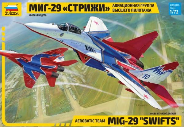 "ZV7310    Самолет ""МИГ-29"" авиагруппа ""Стрижи"" (thumb18987)"