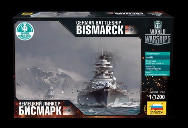"""ZV9204   Немецкий линкор """"Бисмарк"""" (thumb19068)"""