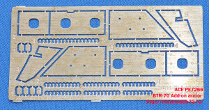 ACEPE7266   BTR-70 Add-on armor  (for ACE kits #72164 & 72166) (attach1 21269)
