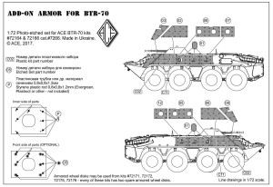 ACEPE7266   BTR-70 Add-on armor  (for ACE kits #72164 & 72166) (thumb21269)
