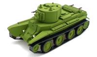 ZebSEA012   Артиллерийский танк БТ-7А с пушкой Л-11 (attach1 16160)