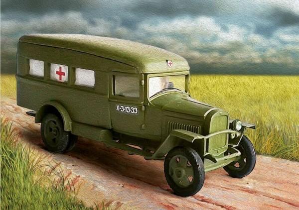 ZebP72081    Санитарный автомобиль ГАЗ-55 (1942) (thumb16114)