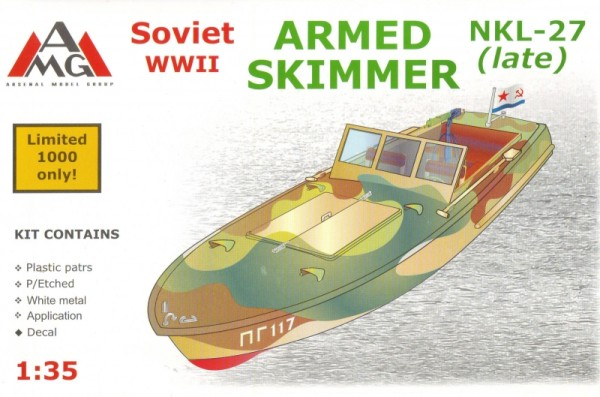 AMG35404   NKL-27 armed speed boat, WWII (late) (thumb14716)
