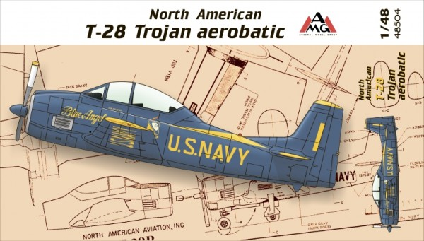 AMG48504   North American T-28 Trojan aerobatic (thumb14768)