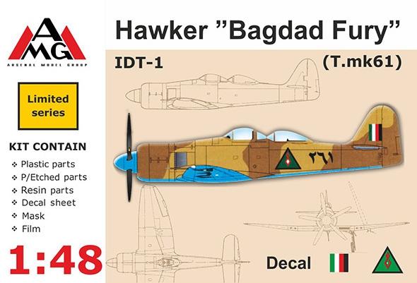 """AMG48602   IDT-1 Hawker """"Bagdad Fury"""" (thumb14772)"""