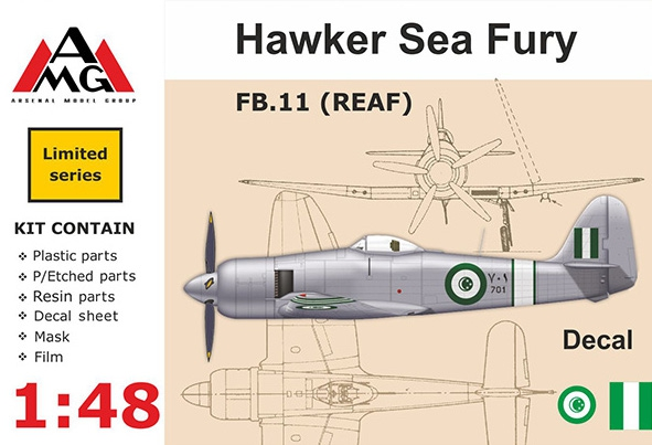 AMG48607   FB.11 (REAF) Hawker Sea Fury (thumb14774)