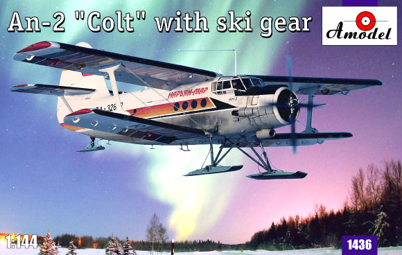 AMO1436   Antonov An-2 'Colt' with ski gear (thumb14888)
