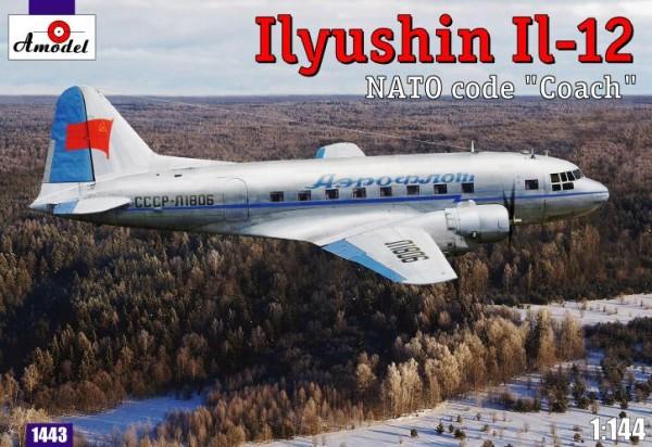 AMO1443   Ilyushin IL-12 'Coach' Soviet cargo aircraft (thumb14904)