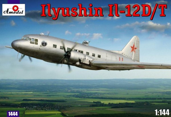 AMO1444   Ilyushin IL-12D/T Soviet military transport aircraft (thumb14906)