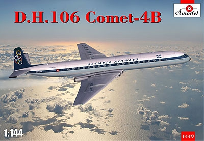 AMO1449   D.H. 106 Comet-4B 'Olympic airways' (thumb14914)