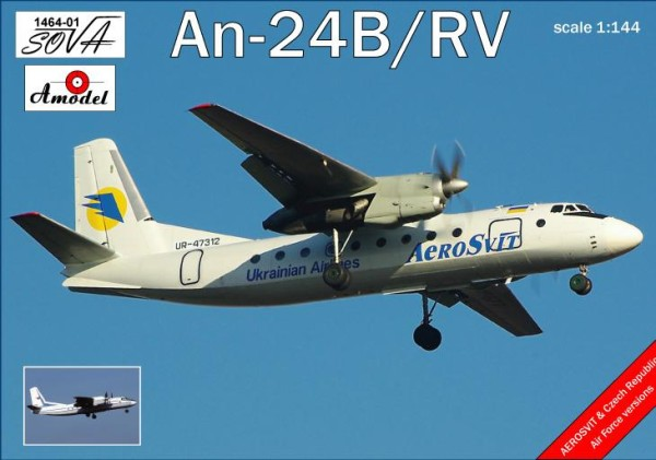 AMO1464-01   Antonov An-24B/RV Ukrainian airlines (thumb14942)