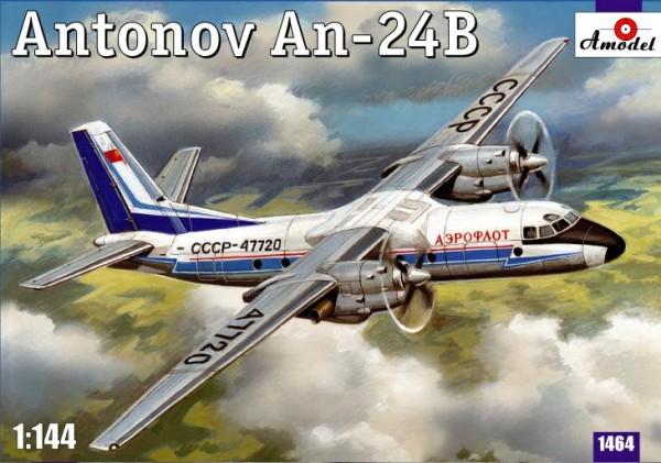 AMO1464   Antonov An-24B passenger airliner (thumb14940)