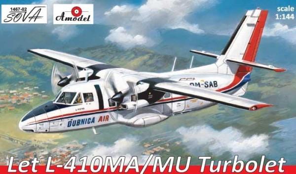 AMO1467-02   Let L-410MA/MU Turbolet, Slovakia, West Germany (thumb14952)
