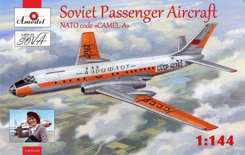 AMO1469-01   Tupolev Tu-104 airliner, Aeroflot, kit2 (thumb14958)