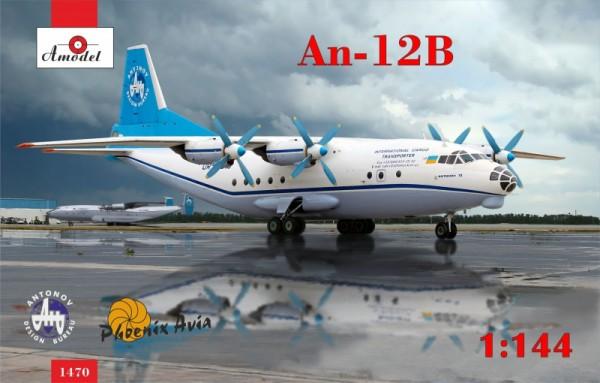 AMO1470   Antonov An-12B cargo aircraft (thumb14960)
