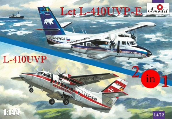 AMO1472   Let L-410UVP-E & L-410UVP aircraft (2 kits in box) (thumb14964)