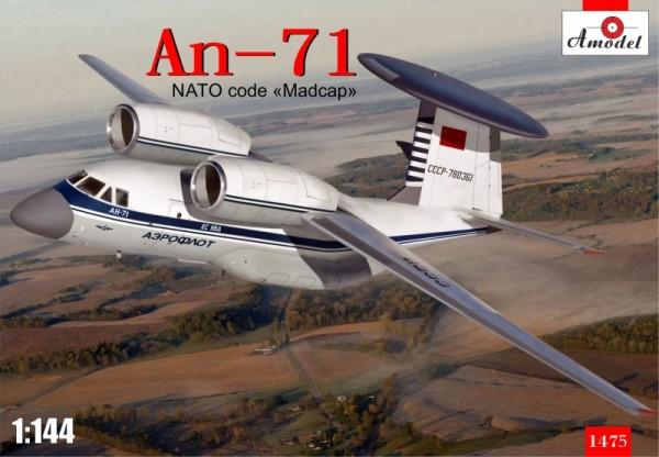 AMO1475   Antonov An-71 'Madcap' Soviet AWACS aircraft (thumb14970)