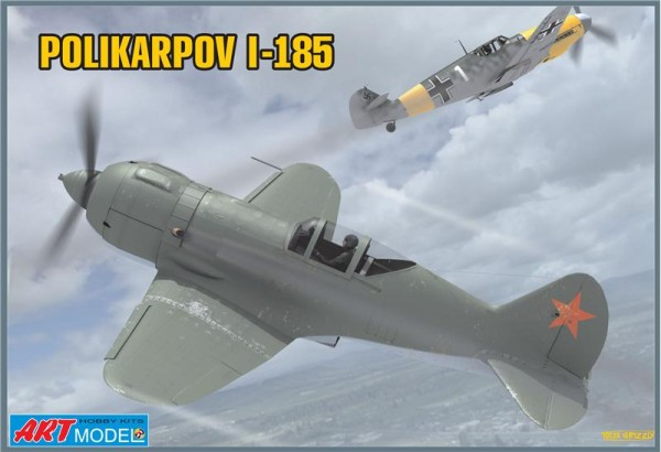 ART7206   Polikarpov I-185 Soviet fighter (thumb14798)
