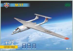 "MSVIT72024     Самолет-перехватчик М-17 ""Стратосфера""    Myasishchev M-17 ""Stratosphera"" (thumb14669)"