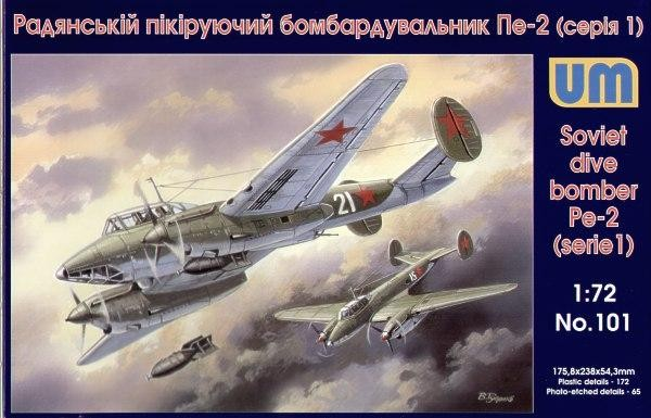 UM101   Pe-2 Soviet dive bomber, early (thumb15977)