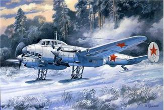 UM104   Pe-2 Soviet dive bomber (serie 55), ski variant (thumb15983)