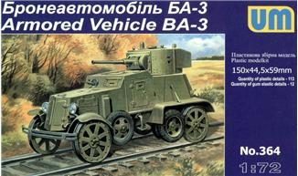 UM364   BA-3ZD Soviet armored vehicle (thumb15887)