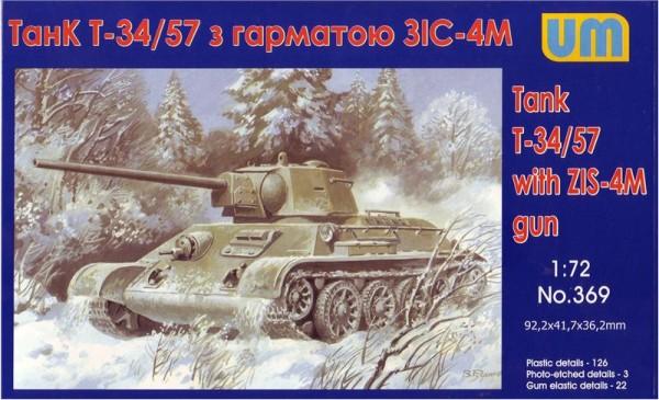 UM369   T-34/76-57 Soviet tank with ZIS-4 gun (thumb15897)