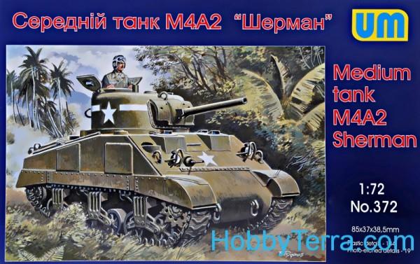 UM372   M4A2 Sherman medium tank (thumb15903)