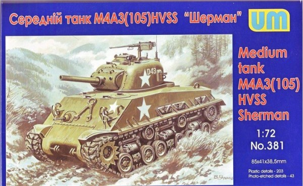 UM381   Medium tank M4A3(105) HVSS (thumb15917)