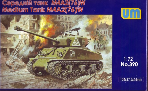 UM390   M4A2(76)W US medium tank (thumb15927)
