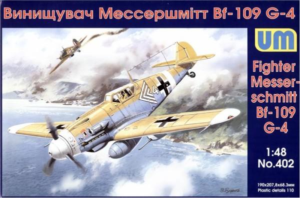 UM402   Messerschmitt Bf 109G-4/R3 (thumb15993)