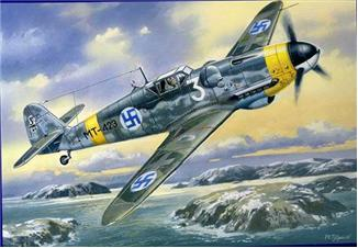 UM432   Messerschmitt Bf 109-G6, Air Force Finland (thumb16007)