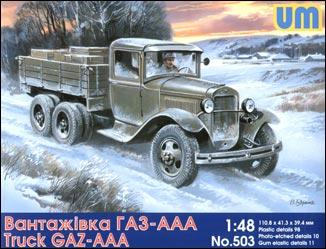 UM503   GAZ-AAA Soviet truck (thumb15949)