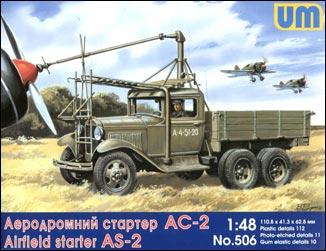 UM506   Airfield starter AS-2 on GAZ-AAA chassis (thumb15955)