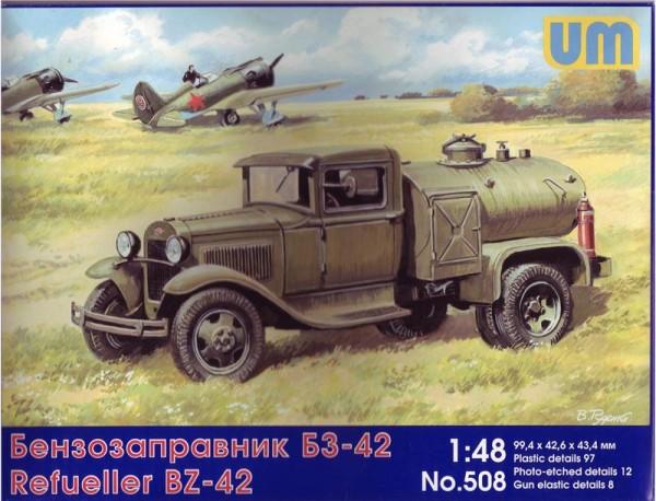 UM508   BZ-42 refuel truck (thumb15957)