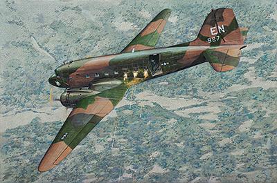 RN310   Douglas AC-47D Spooky (thumb20283)