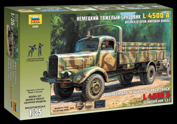 ZV3596    Немецкий тяжёлый грузовик L4500A (thumb18724)