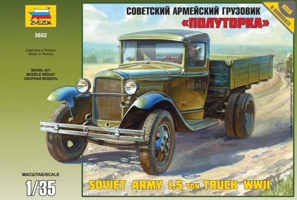 "ZV3602    Грузовик ГАЗ-АА ""Полуторка"" (thumb18738)"