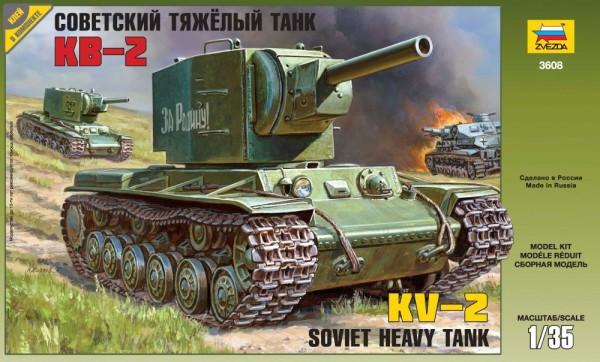 ZV3608    Советский тяжёлый танк КВ-2 (thumb18752)