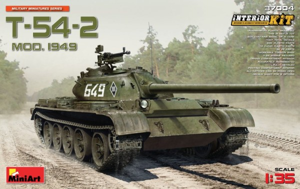 MA37004   T-54-2 Soviet tank, model 1949, Interior kit (thumb20991)