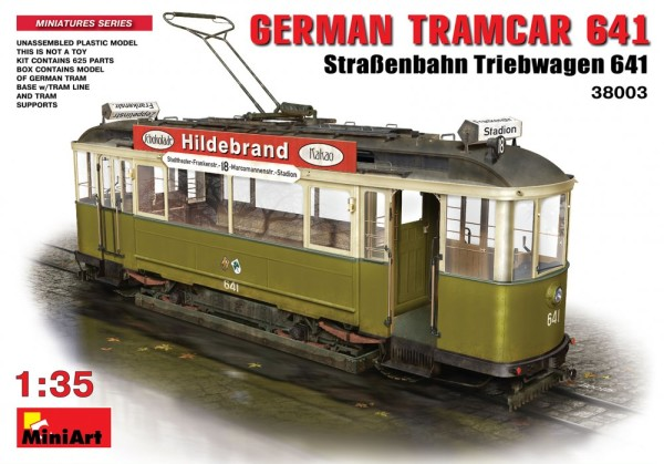 MA38003   German Tramcar 641 (thumb21027)