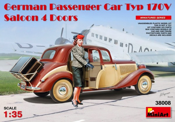 MA38008   German Passenger Car Typ 170V.Saloon 4 Doors (thumb21049)