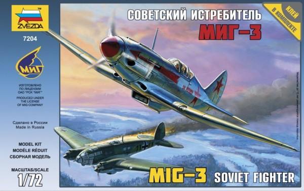 "ZV7204    Самолет ""МиГ-3"" (thumb18863)"