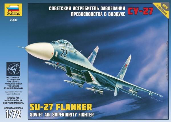 """ZV7206    Самолет """"Су-27"""" (thumb18866)"""