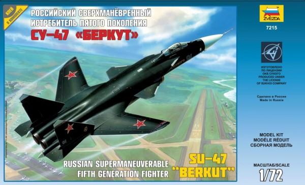 "ZV7215    Самолет Су-47 ""Беркут"" (thumb18870)"