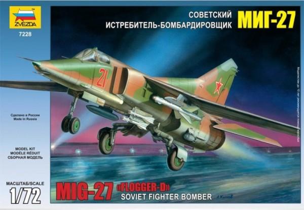 "ZV7228    Самолет ""МиГ-27"" (thumb18884)"