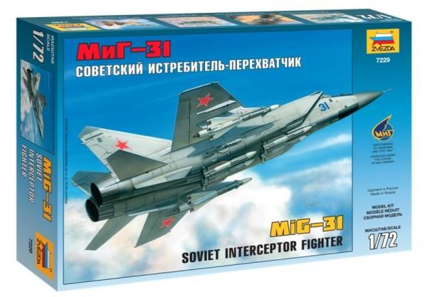 "ZV7229    Самолет  ""МиГ-31"" (thumb18886)"