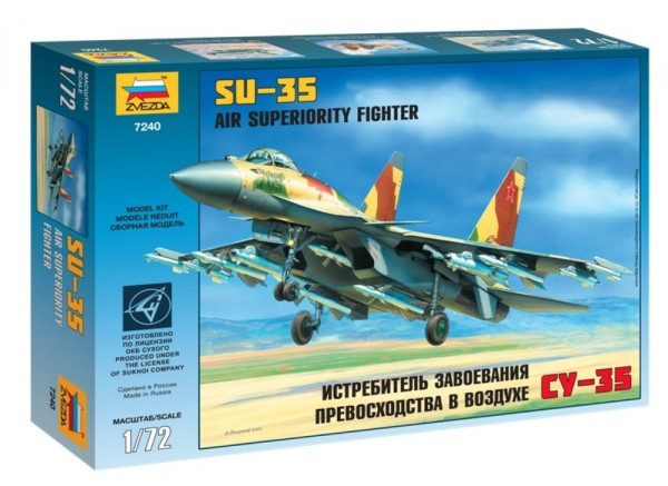 """ZV7240    Самолет """"Су-35"""" (thumb18899)"""