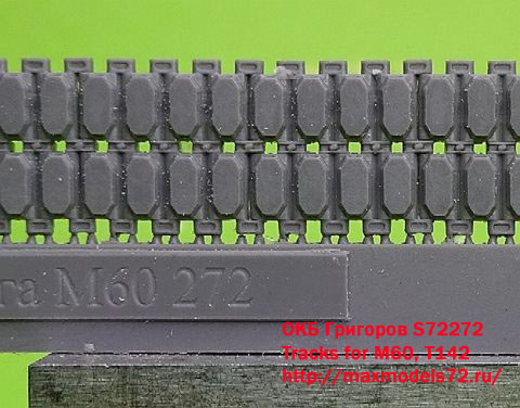 OKBS72272    Tracks for M60, T142 (thumb16757)