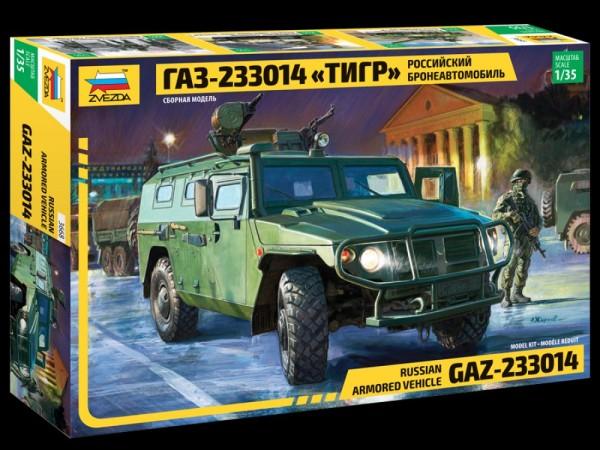 "ZV3668    Российский бронеавтомобиль ГАЗ ""ТИГР"" (thumb18838)"
